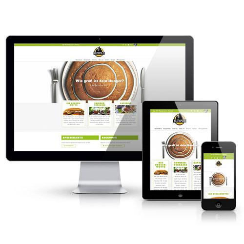 Redesign Meatropolis Webseite