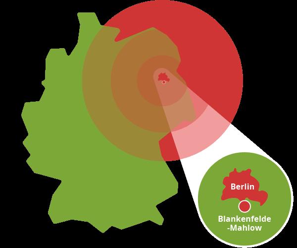 Berlin, Blankenfelde-Mahlow und Umgebung