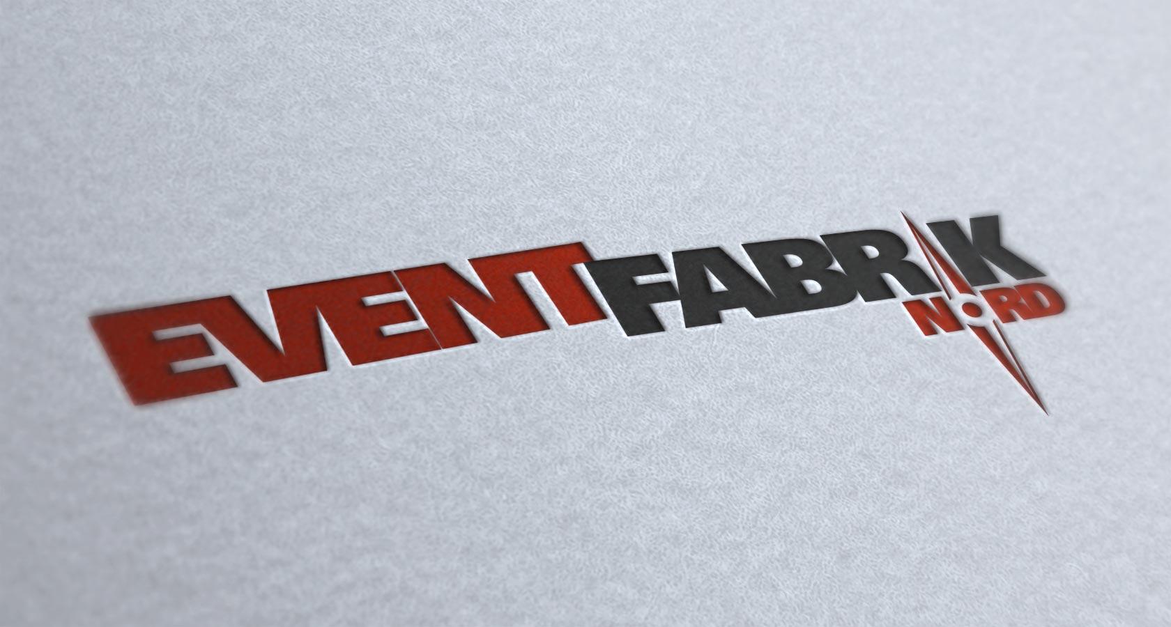 Logo Eventfabrik Nord Letterpress Logo