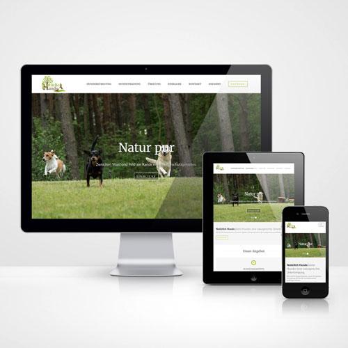 Webseite Natürlich Hunde