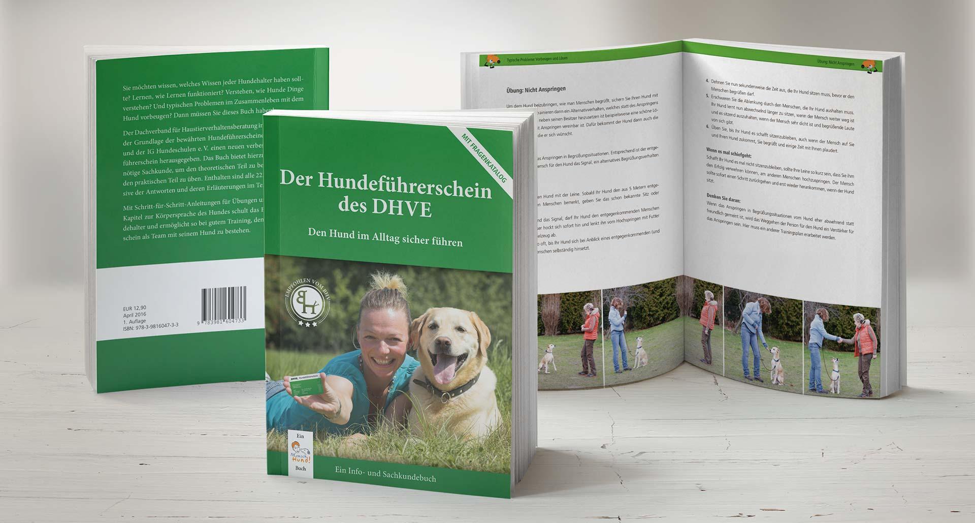 Buch Der Hundeführerschein des DHVE